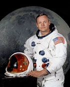 Neil Armstrong fotka