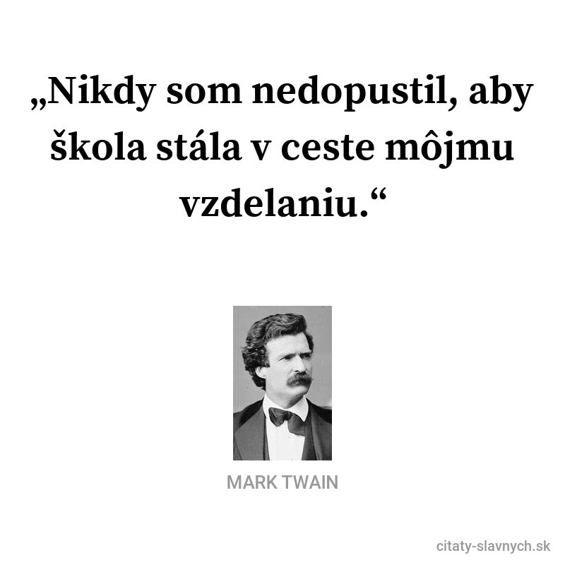 mark twain citat