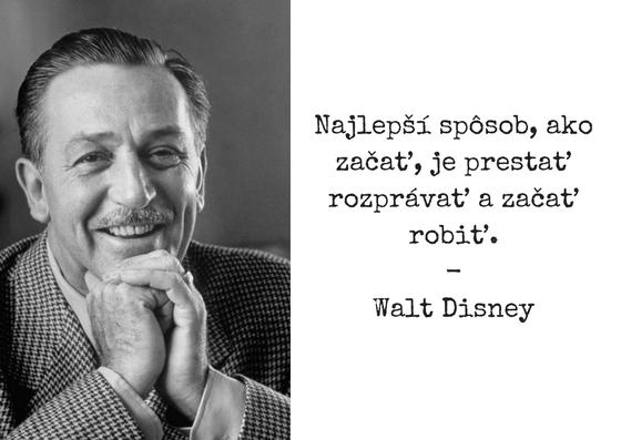 Walt Disney citátov 91 citátov